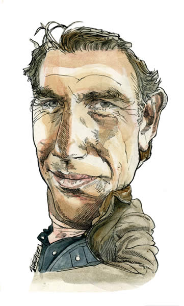Actors Caricatures Gallery - Kerry Waghorn - Caricature Artist