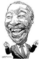 President of South Africa Thabo Mbeki