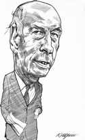 President of the French Republic Valéry Giscard d'Estaing