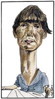 Anne Tyler caricature